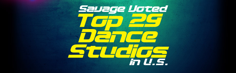 Voted Top 29 Dance Studios in U.S.